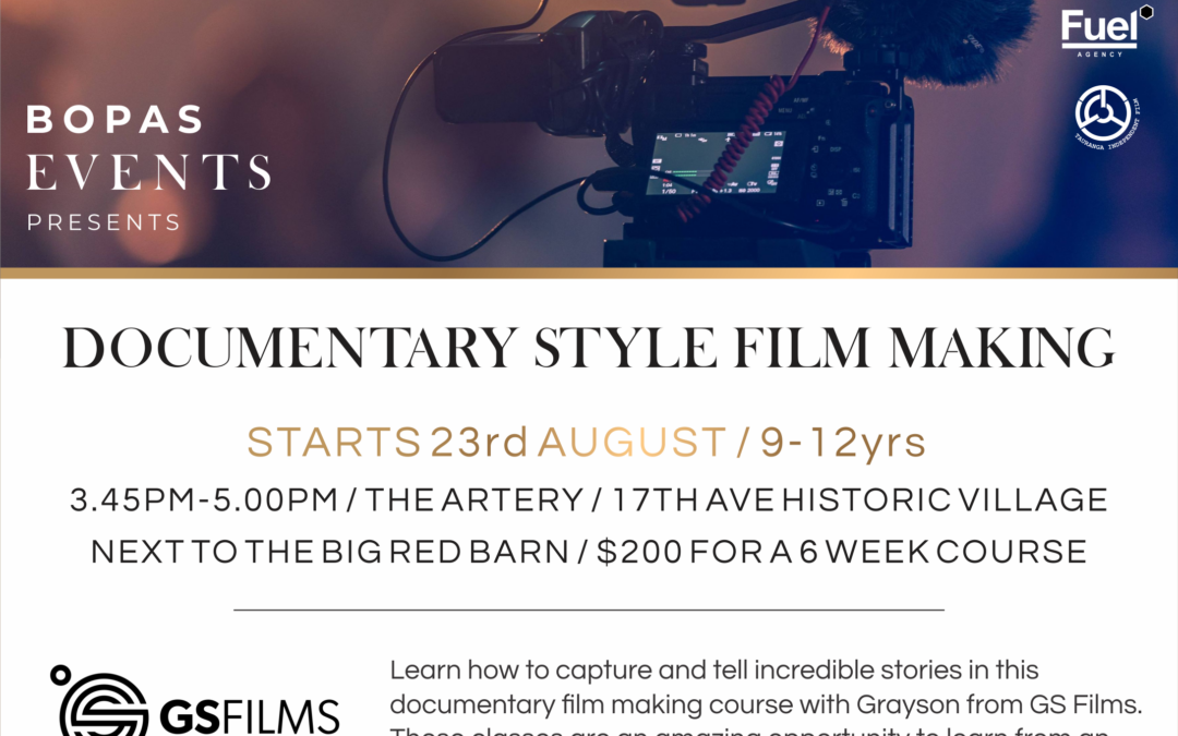 Documentary Film Making Course!